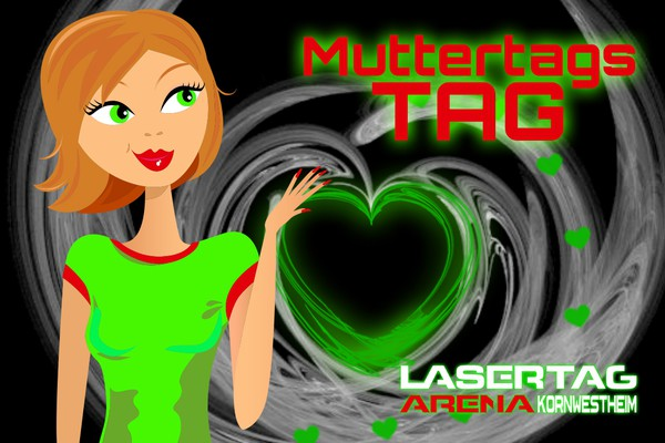 Muttertagsgr 252 223 E 💟 Lasertag Arena Korn 173 W 173 E 173 S 173 T 173 Heim